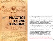 Practice hybrid thinking